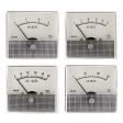 Shurite round barrel analog voltmeters