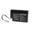 12 volt, 0.8 amp hour SLA Universal Battery