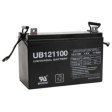 Sealed Universal Battery: AGM 12 volt 110 Amp hours