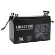 Sealed Universal Battery: AGM 12 volt 110 Amp hours