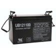 Universal AGM Battery: Sealed 12 volt 110 Amp hours