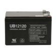 12 volt 12 Amp hour Sealed AGM Universal Battery