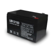 Universal Sealed AGM 12 volt 15 Amp hour Battery