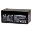 12 volt, 3.4 amp hour SLA Universal Battery