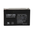 Universal Battery 6V 12Ah Sealed Lead Acid Battery