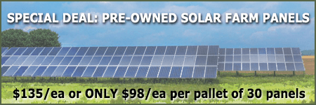 SALE solar farm PV panels