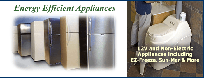 12 volt and Non-Electric Appliances