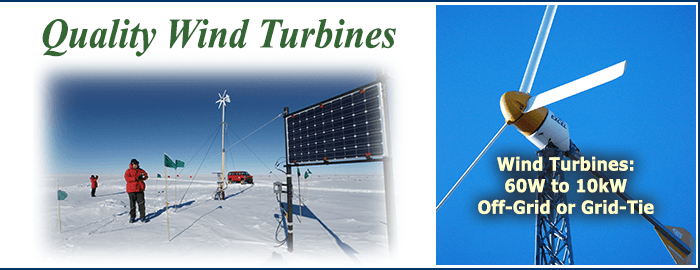 Wind Turbines for Home Power
