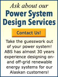 ABS Alaskan provides renewable energy system design services